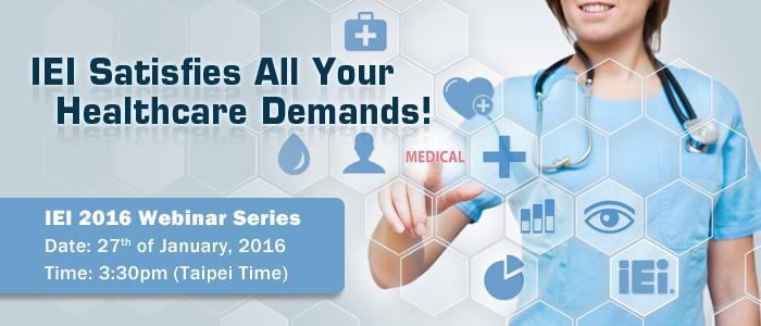 IEI Satisfies All Your Healthcare Demands!
