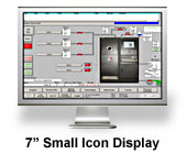 "7"" Small Icon Display"