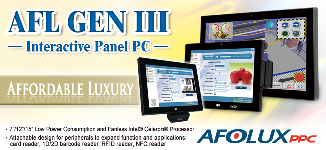 AFL GEN III Interactive Panel PC