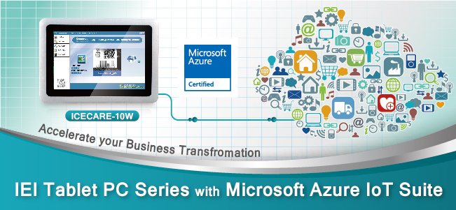 IEI Panel PC Series with Microsoft Azure IoT Suite