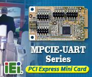 MPCIE-UART Series