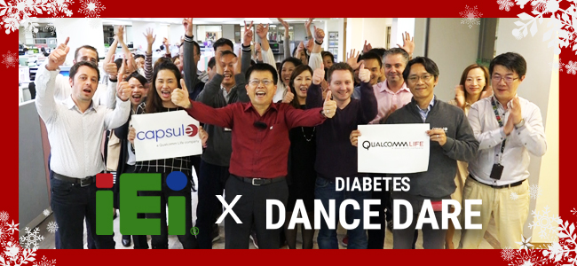 IEI Diabetes dance dare with Qualcomm Life 2016