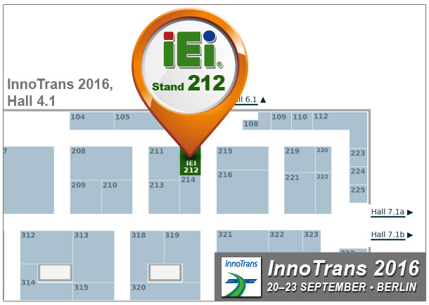 IEI Booth: 212