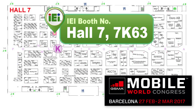 IEI Booth No. 7K63, Hall 7