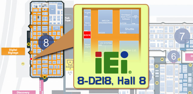 ISE 2015 IEI Booth