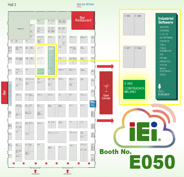 IEI Booth Location