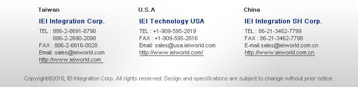 IEI Integration Corp.