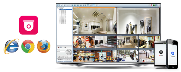 Comprehensive surveillance solution providing 24/7 security
