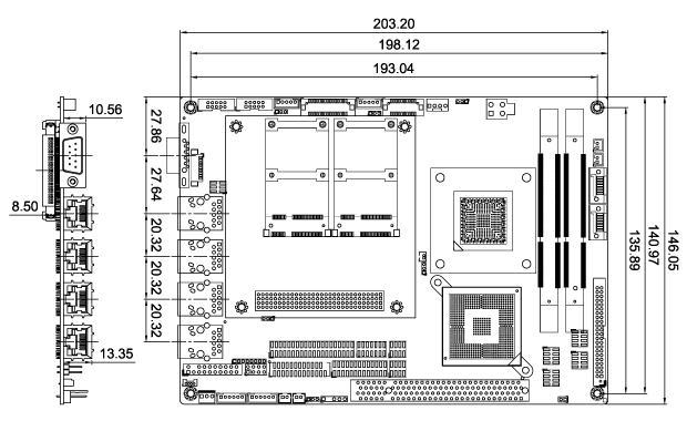 NOVA-PV-D4251/D5251 Dimensions