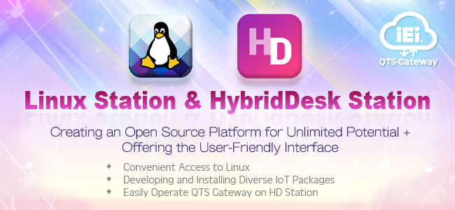 QTS Gateway - Linux Station & HD Station