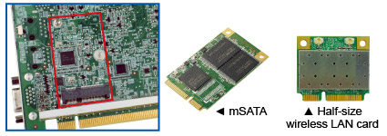 PCIe Mini & mSATA colay