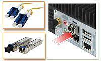 Dual Combo (SFP Fiber/RJ-45) Gigabit LAN