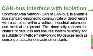 CAN-bus Interface with Isolation