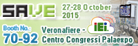 Meet IEI at SAVE Verona 2015