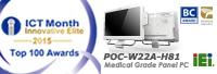 IEI POC-W22A-H81 Wins the Innovative Products 2015