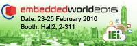 Meet IEI at Embedded World 2016