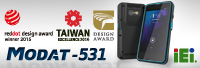 IEI MODAT-531 Wins the Golden Pin Design Award 2015
