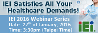 Join IEI 2016 January Webinar - Smart Healthcare Solution !!!