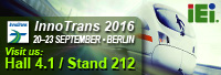 IEI Welcomes You to Visit InnoTrans 2016 for Complete Railway Solution!!